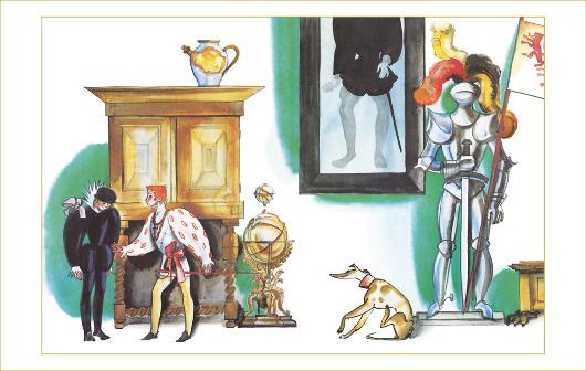 Принц и нищий, М. Твен, ил. Ф. Лемкуль