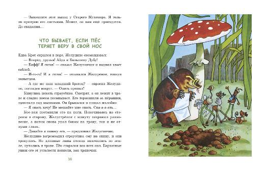 Восемь волшебных желудей, Ю. Дьяконов, ил. Г. Вальк