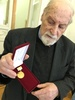 Золотая медаль от Российской академии художеств